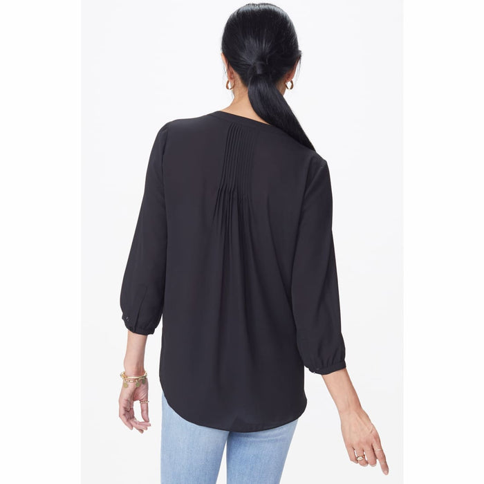 Nydj Womens Pintuck Blouse Tops & Blouses