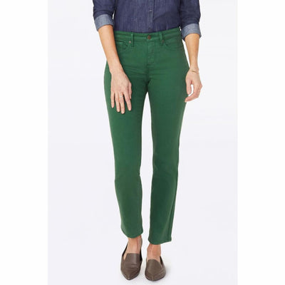 Nydj Womens Sheri Slim Jeans In Sueded Sateen Jeans