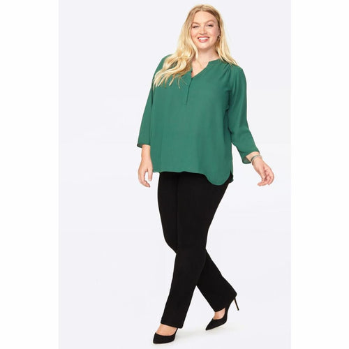 Nydj Womens The Perfect Blouse Tops & Blouses
