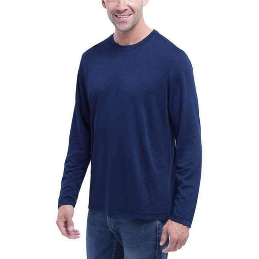 Orvis Mens Long Sleeve Slub Tee Casual Shirts