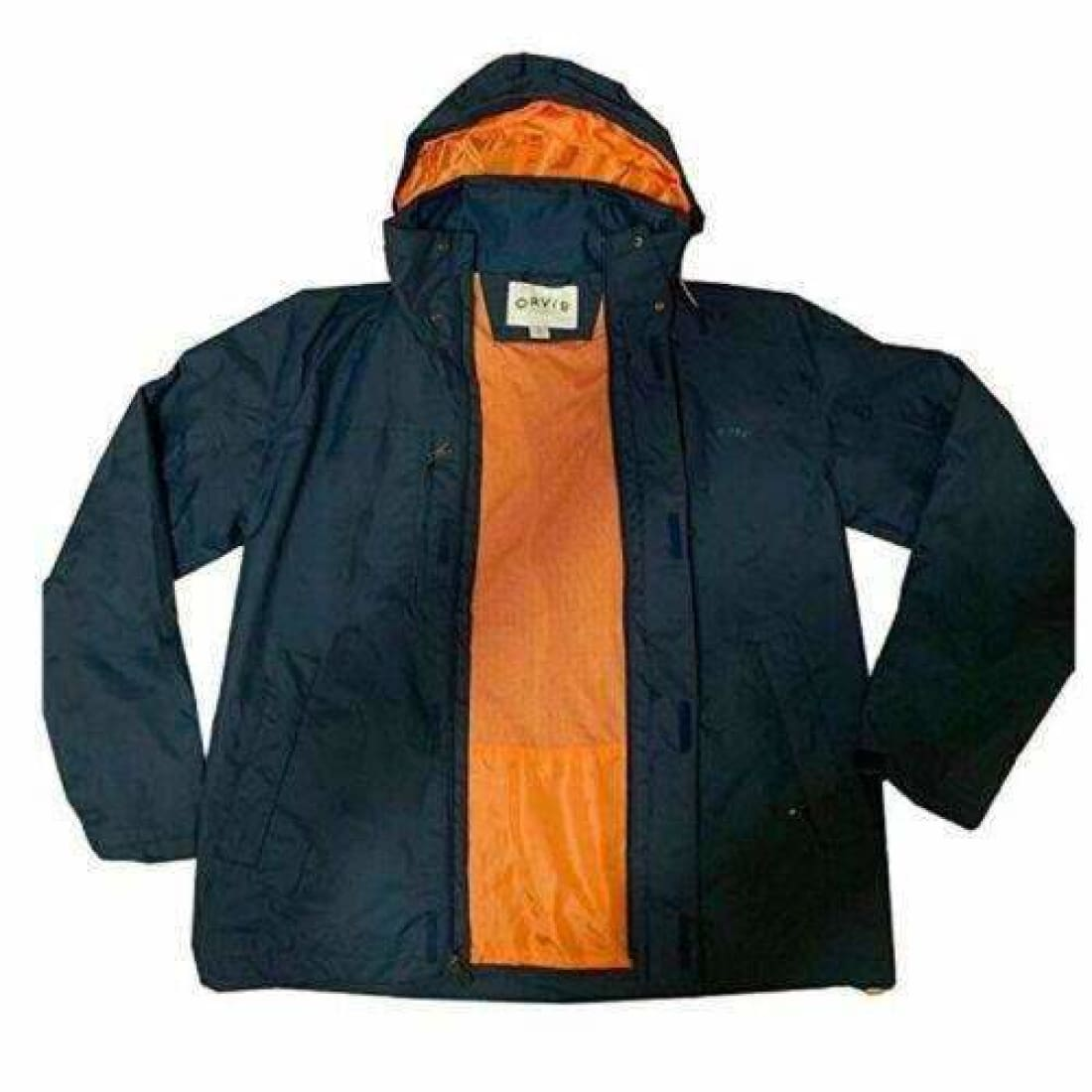 Orvis Mens Wahoo Hooded Rain Jacket Xl Atlantic Coats & Jackets