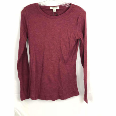 Orvis Womens Long Sleeve Thermal Waffle Shirt M / Heather Cabenet Athletic Apparel