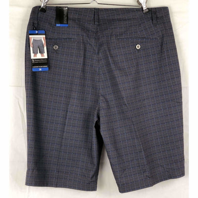 Pebble Beach Mens Dry-Luxe Performance Comfort Waist Short Shorts
