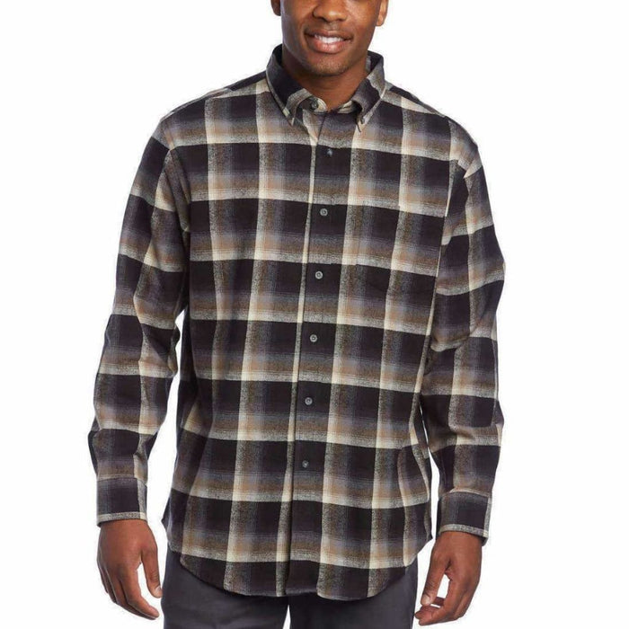 Pendleton Mens Cotton Flannel Mason Shirt Casual Shirts
