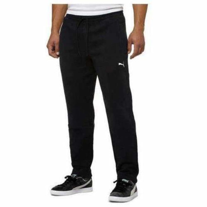 Puma Mens Fleece Pant S / Black Pants