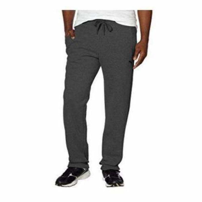 Puma Mens Fleece Pant S / Dark Grey Pants