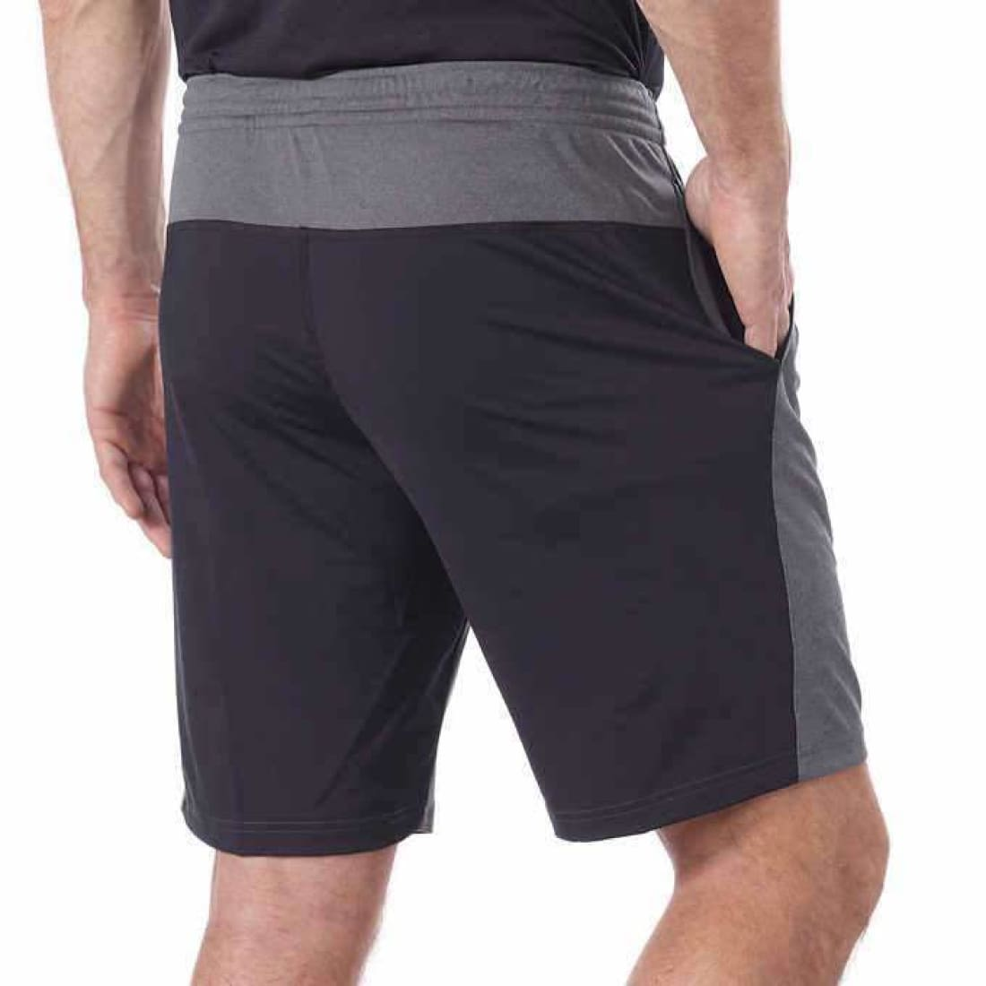 Reebok Mens Active Poly Knit Short Shorts