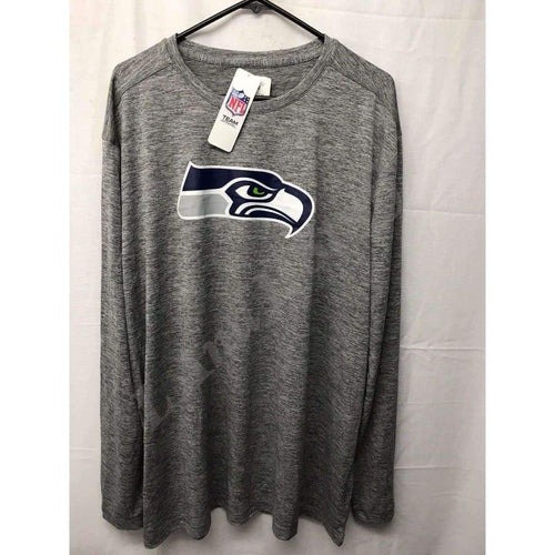 Seattle Seahawks Long Sleeve T-Shirt By Team Apparel With Tx3 Cool Size 2Xl T-Shirts
