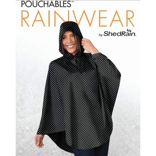 Shedrain Ladies Packable Poncho One Size Fits Most Poncho