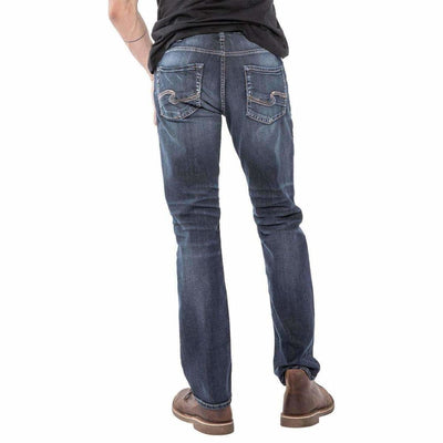 Silver Jeans Co. Mens Allan Classic Fit Jean Jeans