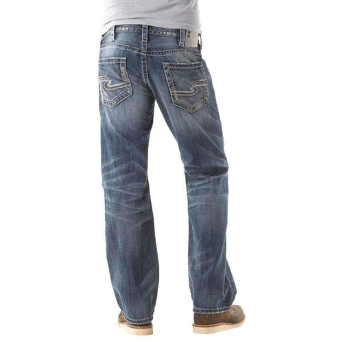 Silver Jeans Co. Mens Zac Relaxed Fit Jean 28X30 Jeans