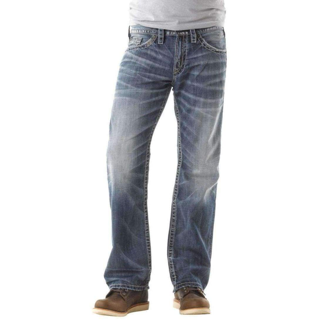 Silver Jeans Co. Mens Zac Relaxed Fit Jean Jeans