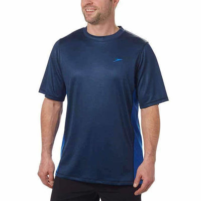 Speedo Mens Sun Protection Tee S / Navy Casual Shirts