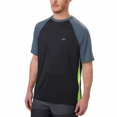 Speedo Mens Sun Protection Tee Xl / Black Casual Shirts