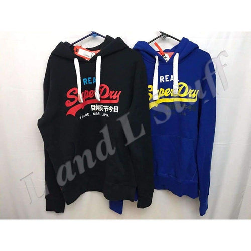 Superdry Vintage Logo Tri Entry Hoodie Mens Xl Sweats & Hoodies