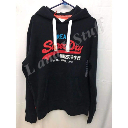 Superdry Vintage Logo Tri Entry Hoodie Mens Xl Regular / Xl / Eclipse Navy Sweats & Hoodies
