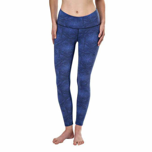 Tuff Athletics Ladies High Waist Active Tight Leggings M / Bright Blue Leggings