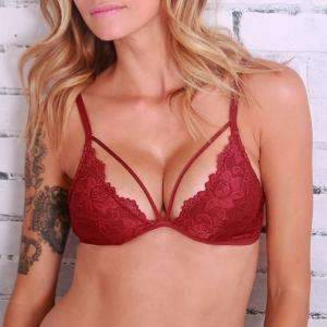 Undie Couture Date Night Lace Bralette Bras & Bra Sets