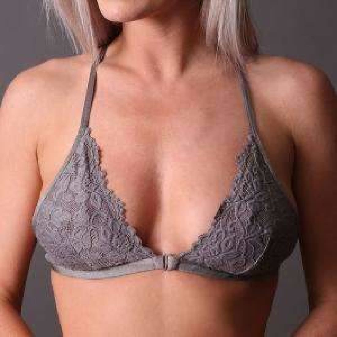 Undie Couture Triangle Racerback Lace Bralette Bras & Bra Sets