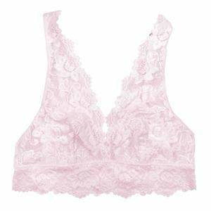 Undie Couture Wide Strap Lace Bralette Small / Rose Bras & Bra Sets