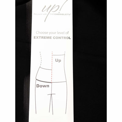 Up! Pants Womens Roma Slim Pants With Extreme Control Waist Band Style 66615 Pants & Shorts