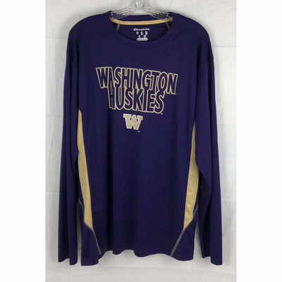 Uw Washington Huskies Mens Long Sleeve Shirt Size Xl Xl Casual Shirts