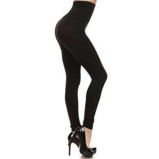 Yelete Ladies High Waist Seamless Leggings Black Leggings