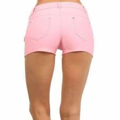 Yelete Womens Classic Jean Like Jegging Shorts Shorts