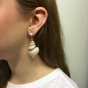 Leilani Sea Shell Earrings