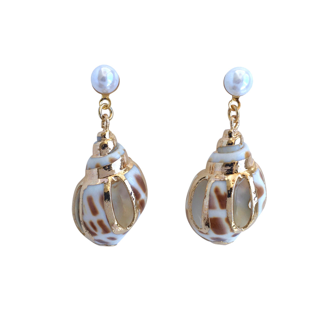 Nerissa Sea Shell Earrings