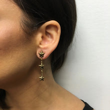 Estella 3 Drop Earring