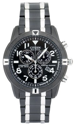 Citizen Eco-Drive Perpetual Calendar Alarm Chronograph Men's Watch