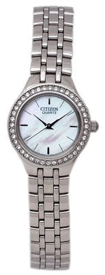 Citizen Quartz Lady's Swarovski Crystal Watch