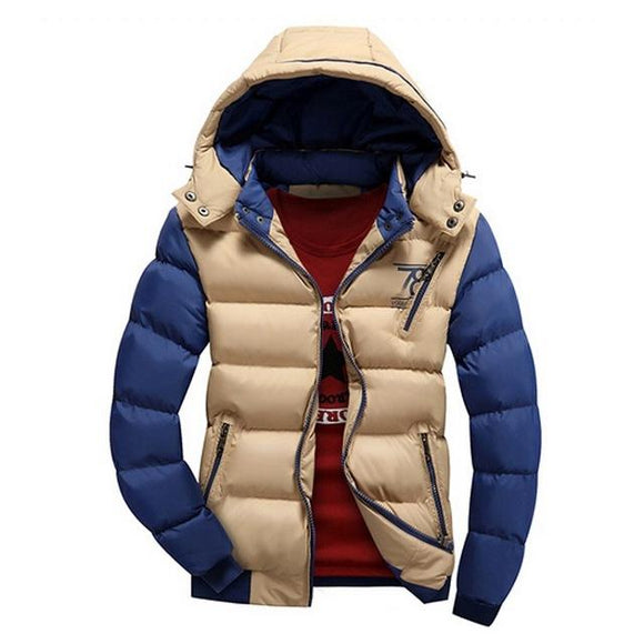 Jacket Hooded Colorful