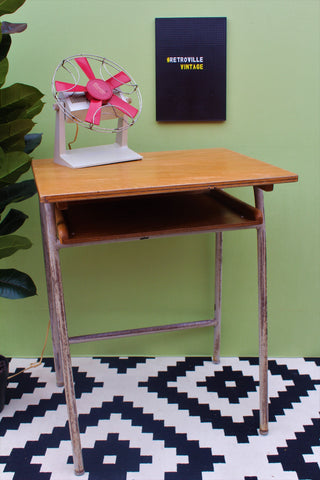 Upcycled Desk Bedside Side Table
