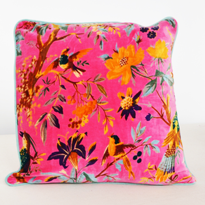 Magenta Square Cushion