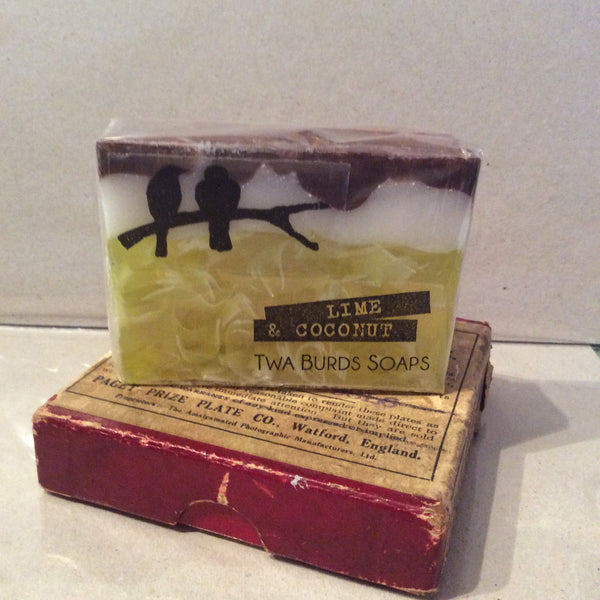 Twa Burds Soap - Lime & Coconut