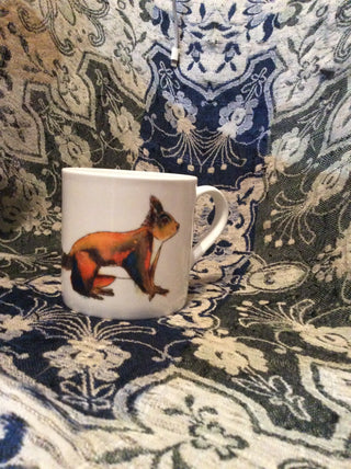 Hunter & Argyle Mug - Squirrel