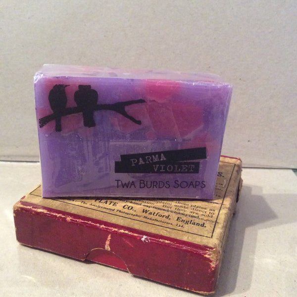 Twa Burds Soap - Parma Violet