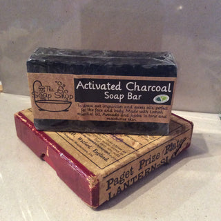 Activated Charcoal Soap Bar - The Soap Shop