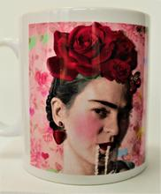 """Pearls"" Frida Kahlo Inspired 10oz Mug"