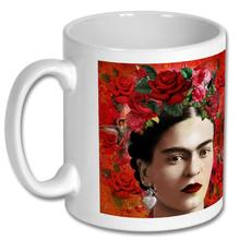"""Roses"" Frida Kahlo Inspired 10oz Mug"
