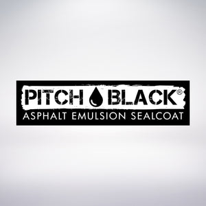 Pitch Black Sealcoat