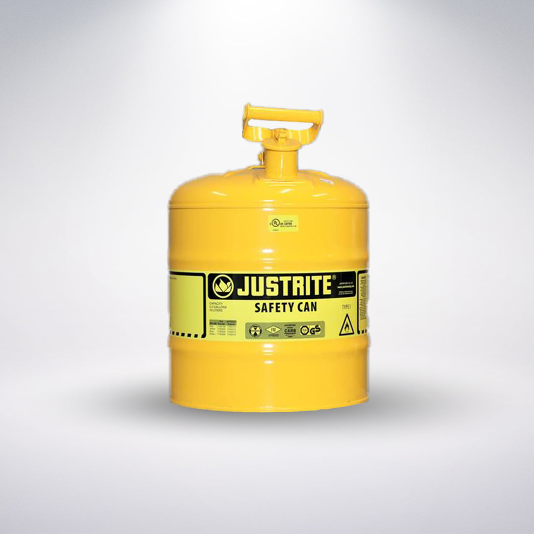 Yellow Gasoline Can