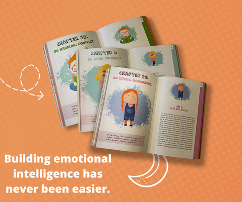 The best boo to build kids emotional intelligence and building their self-esteem