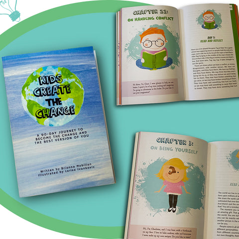 Kids Create the Change is the best new kids book to help kids build emotional intelligence, self-esteem, and self-awareness. It's a journey of self-discovery for a child and their parent.