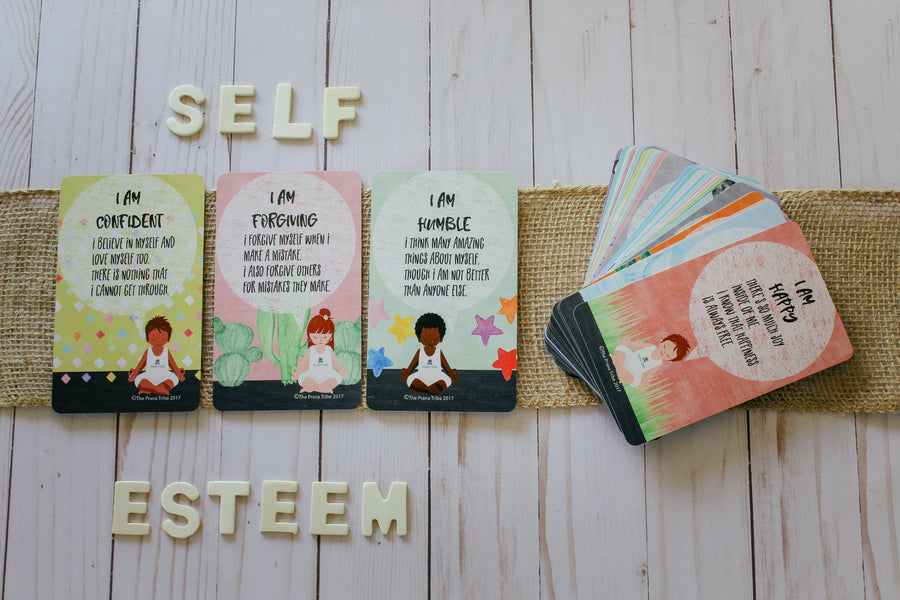 Children's Affirmation Cards | Mindfulness Activities For Kids