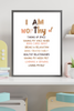 I Am Worthy Of Affirmation Print | Kids Meditation | Affirmations