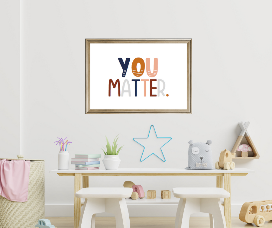 This charming kid's affirmation printable is an empowering and adorable addition to any playroom, classroom, or kid's room. Diversity, equality, and inclusion are important matters.