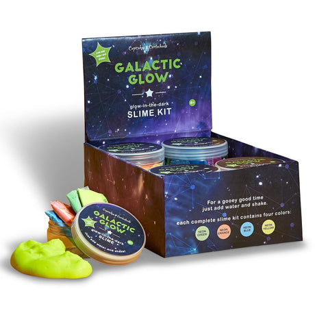 Make Your Own Glow-n-Dark Slime Kit
